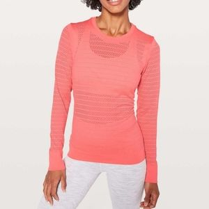 Lululemon Breeze By Long Sleeve Squad Top
